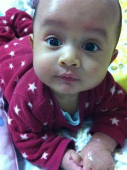 Eiji 4 bulan.