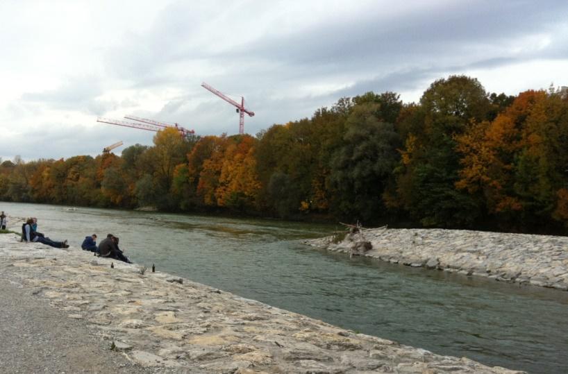 Jerman 2013: Sungai Isar   Pojok Cerita