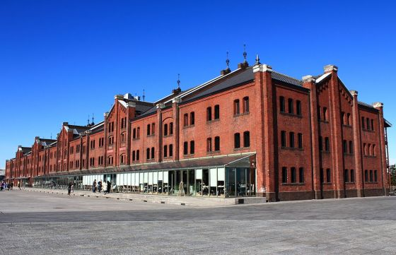 Yokohama Red Brick Warehouse.