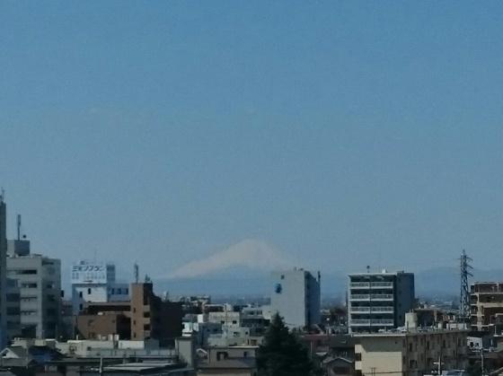 Fuji san dari kejauhan.