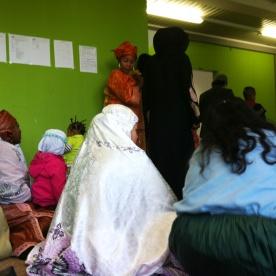 Tempat berkumpulnya muslim dari berbagai negara.